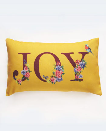 Joy Floral Pillow Cover
