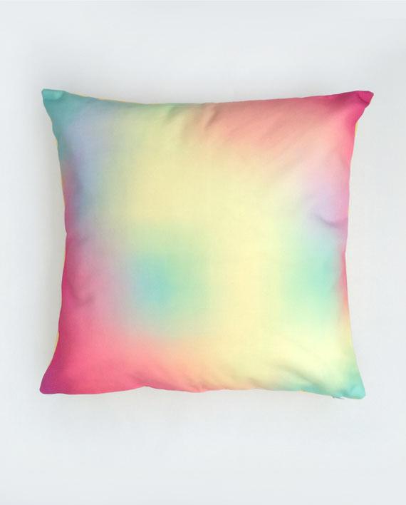 Watercolour Yellow Pillow